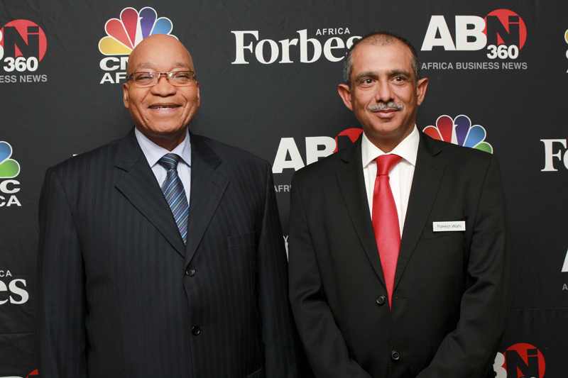Images from CNBC and Forbes Africa
