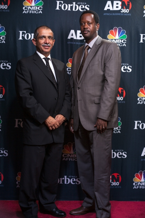 Jack Kayonga YBL and Rakesh Wahi, Founder of AABLA
