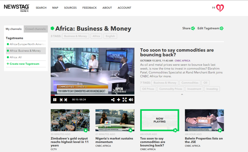 CNBC Africa on NewsTag